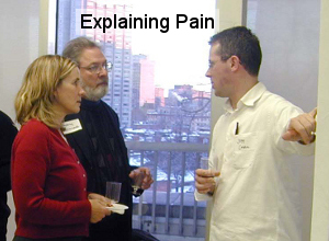 explaining pain